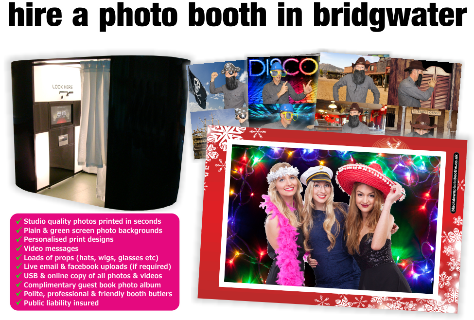 Bridgwater Photobooth & Photo Booth Hire, Bridgwater, Somerset